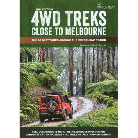 4WD TREKS CLOSE TO MELBOURNE - FREE SHIPPING