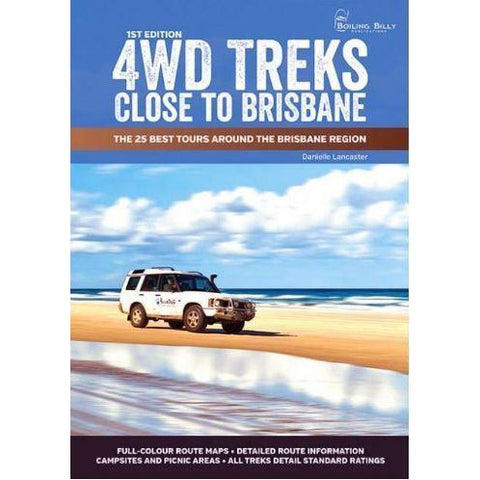4WD TREKS CLOSE TO BRISBANE - FREE SHIPPING