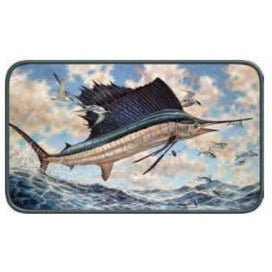 Rivers Edge Sailfish Door Mat