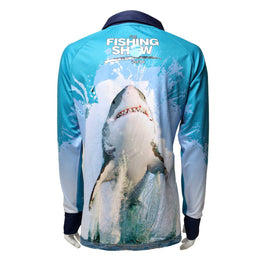 AFN Solar Fishing Shirt - Great White Shark FREE SHIPPING - Ghillie Outdoors Hunting & Fishing