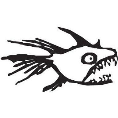 Ugly Fish Vinyl Decal **FREE SHIPPING**