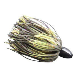 Vike 1 1/4 oz Skirted Jig Head Lure Candy Craw - Ghillie Outdoors Hunting & Fishing