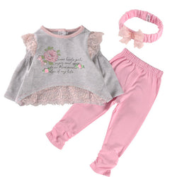 Baby Girls 3 Piece Clothing Set