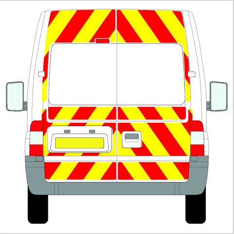 Ford Transit Medium Roof Full Glazed 06-14