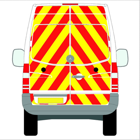 Mercedes Sprinter High Roof (with rear bungs)  06-18
