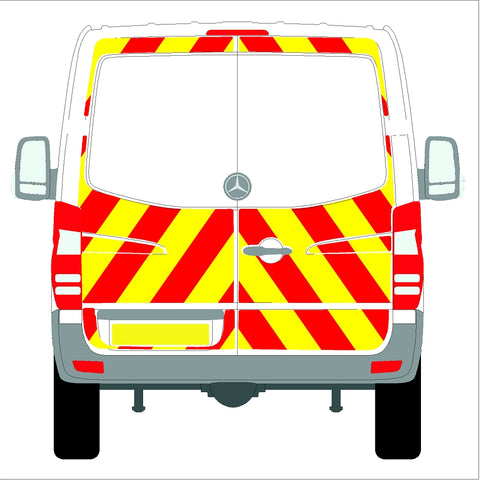 Mercedes Sprinter Low Roof (without rear bungs) Glazed 06-18