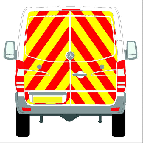Mercedes Sprinter Low Roof (with rear bungs)  06-18