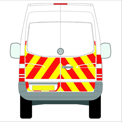 Volkswagen Crafter High Roof (without rear bungs) Half  06-17