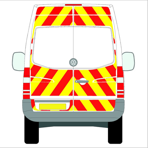 Volkswagen Crafter High Roof (without rear bungs) Glazed 06-17