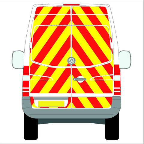 Volkswagen Crafter  High Roof (without rear bungs)  06-17