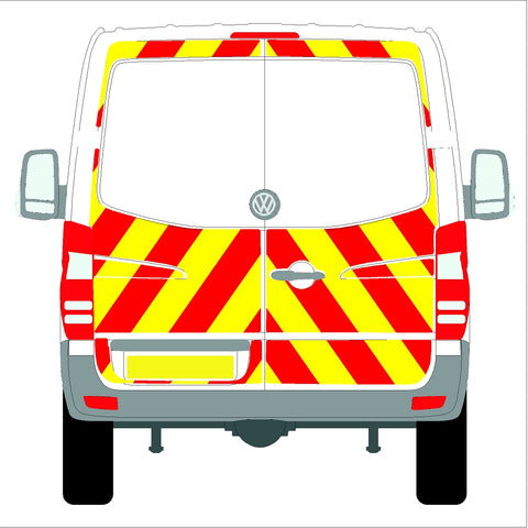 Volkswagen Crafter Low Roof (without rear bungs) Glazed 06-17