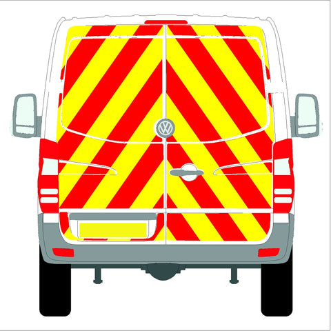 Volkswagen Crafter Low Roof (without rear bungs)  06-17