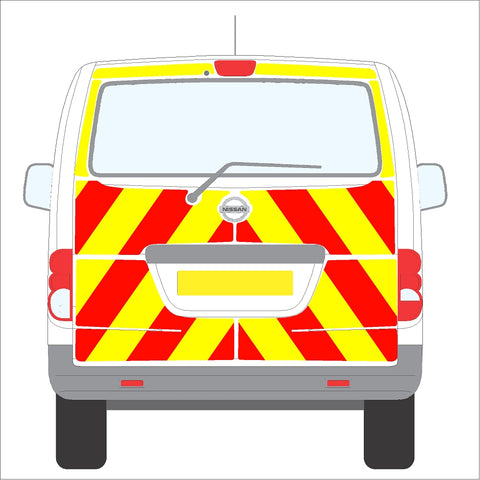 Nissan NV200 10-Present Tailgate Full Glazed Rear with wiper