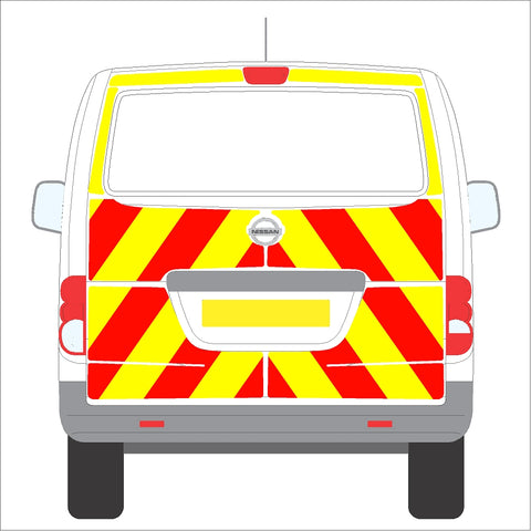 Nissan NV200 10-Present Tailgate Full Glazed Rear without wiper