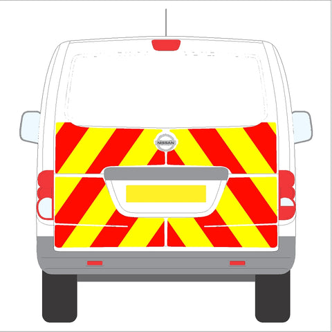 Nissan NV200 10-Present Tailgate Half Rear without wiper
