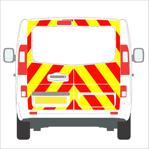 Nissan NV300 Full Glazed Rear 16-Present