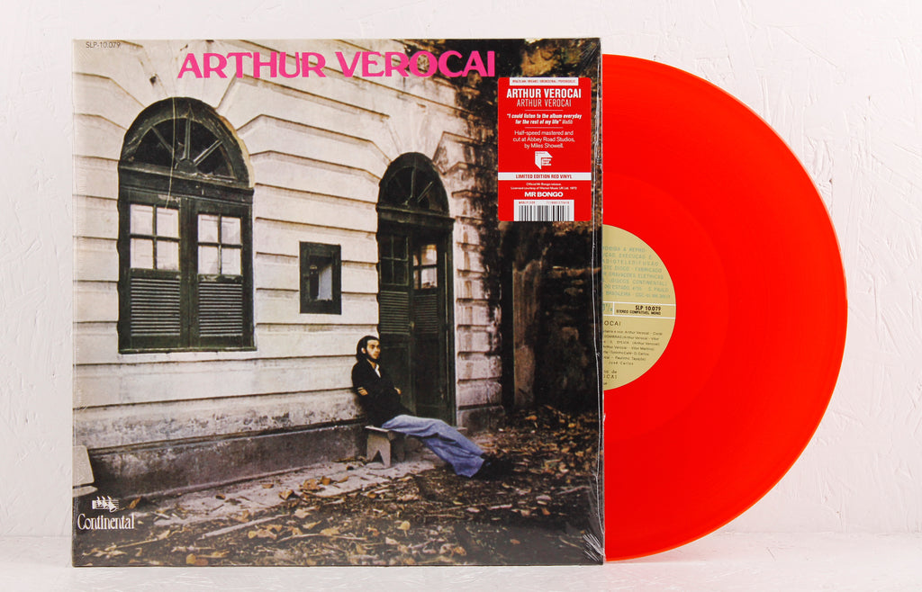Arthur Verocai – Limited Edition Red Vinyl LP