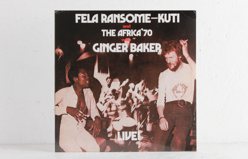 Fela Ransome Kuti And The Africa '70 With Ginger Baker ‎– Live! – Vinyl LP