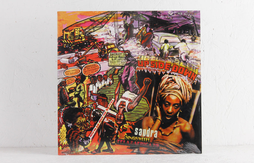 Fela & Africa 70 ‎– Up Side Down – Vinyl LP