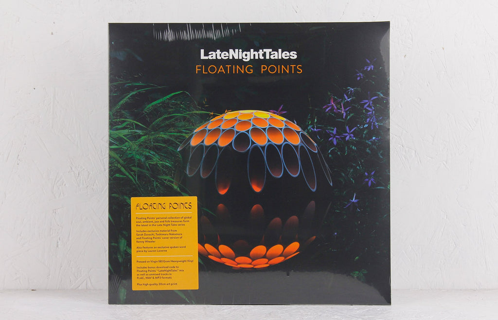 Floating Points Late Night Tales – Vinyl 2-LP