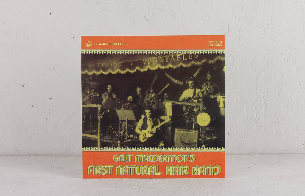 Galt Macdermot's First Natural Hair Band ‎– Ripped Open By Metal Explosions – Vinyl 7""