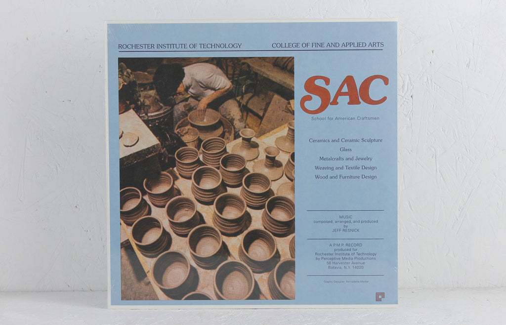 SAC School Of American Craftsmen – Vinyl LP