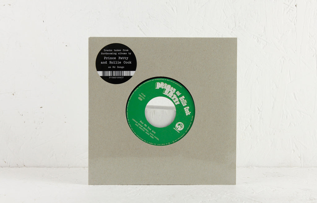 "Prince Fatty & Hollie Cook – For Me You Are – 7"" Vinyl"