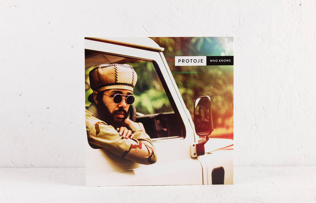 "Protoje – Who Knows ft. Chronixx b/w Gregory Morris Dub Mix – 7"" Vinyl"