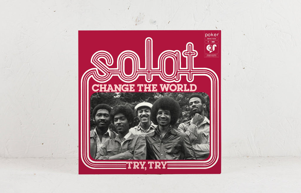 "Solat Change The World / Try, Try - 7"" Vinyl"