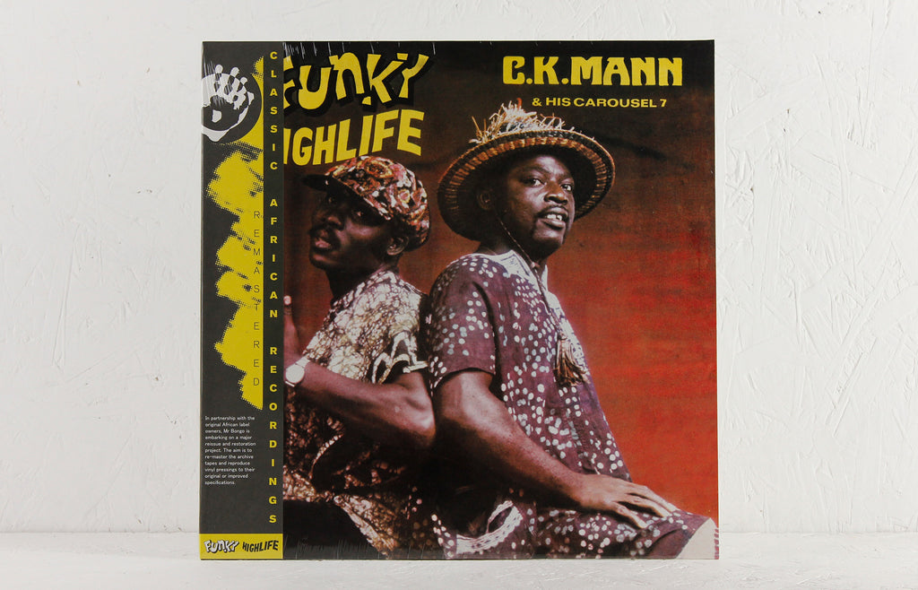 C.K. Mann – Funky Highlife – Vinyl LP/CD
