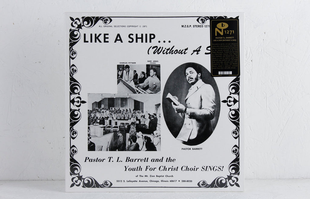Like A Ship... (Without A Sail) – Vinyl LP