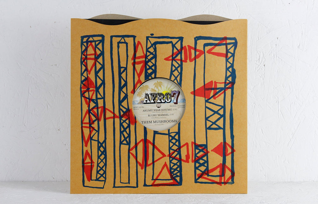 "Them Mushrooms EP – 12"" Vinyl"