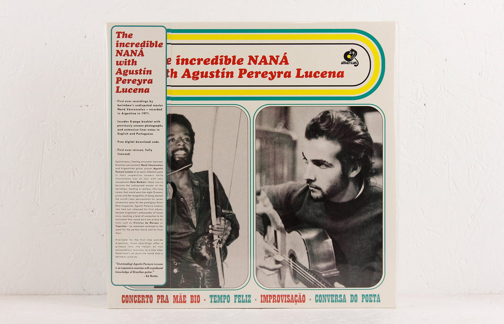 The Incredible NANÁ with Agustín Pereyra Lucena – Vinyl LP