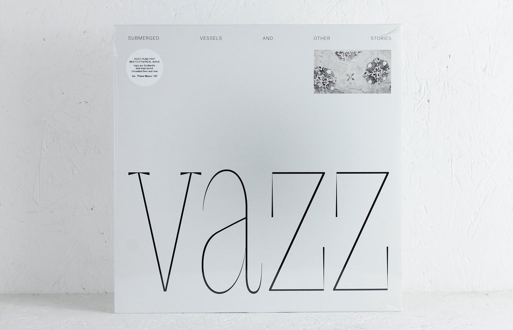 Vazz / Hugh Small ‎– Submerged Vessels And Other Stories / Piano Music (2014 - 2016) –  Vinyl LP