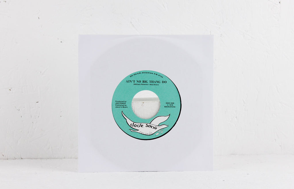 Swave Villi Us / Ain't No Big Thang Do – Vinyl 7""