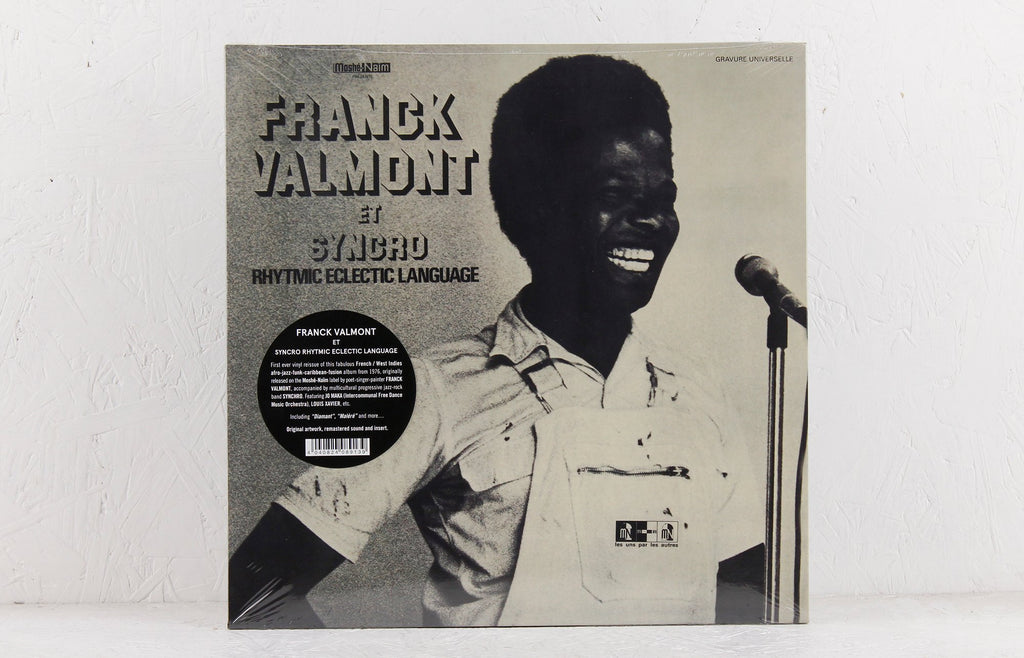 Franck Valmont Et Syncro  Rhytmic Eclectic Language (re-issue) – Vinyl LP