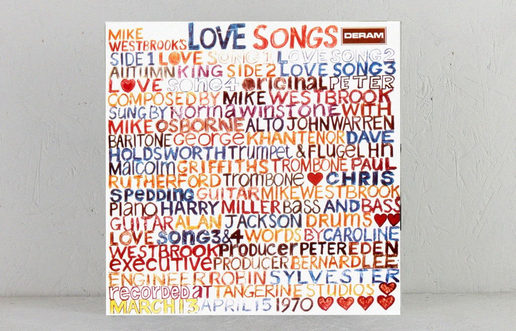 Mike Westbrook's Love Songs – Vinyl LP