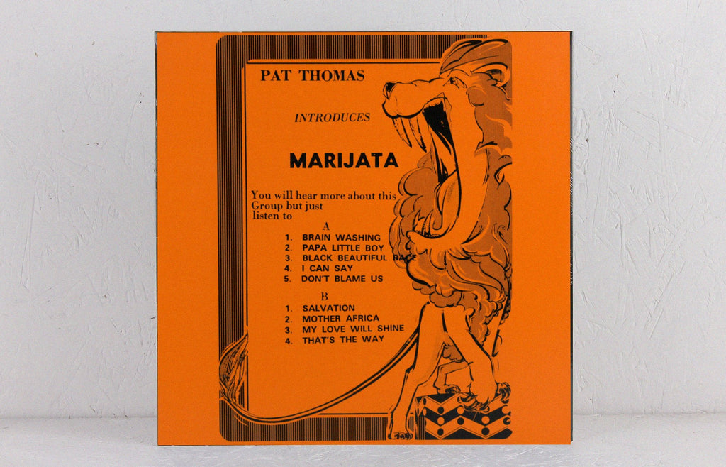 Pat Thomas Introduces Marijata – Vinyl LP