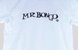 Mr Bongo Short Sleeve T-Shirt – Full Stop (White & Black)