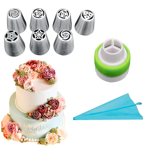 Reusable Cake Decorating Nozzles