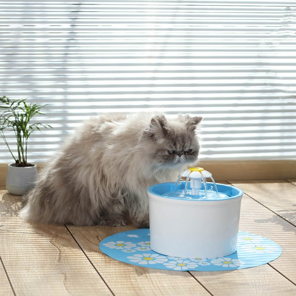 Pet Flower Water Fountain