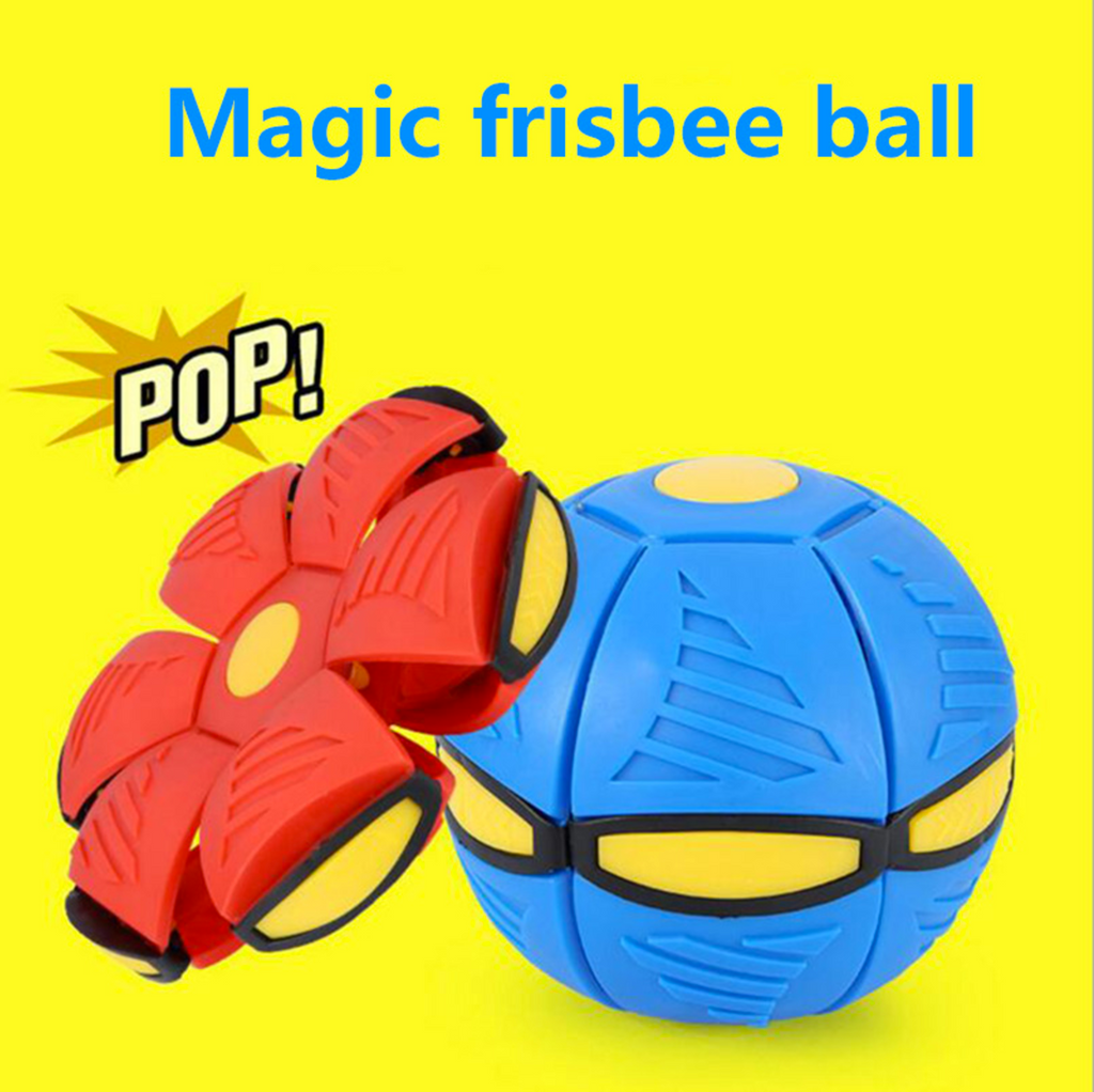 Magic frisbee ball