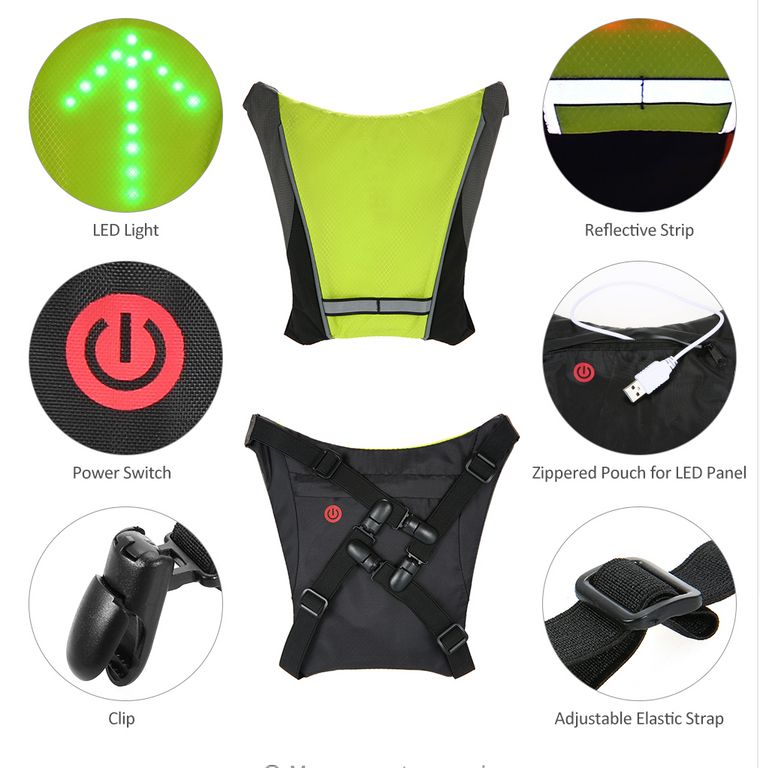 Safety Cycling  Vest