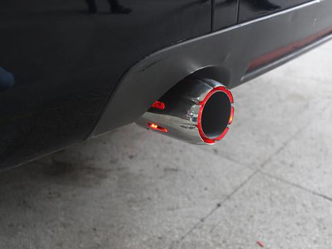 Cars led exhaust