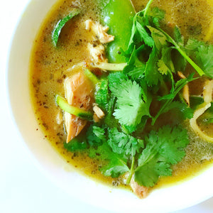 Easy Peasy Thai Chicken Broth