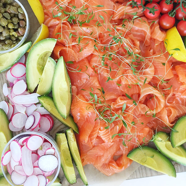 Smoked Salmon Brunch Platter