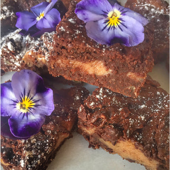 Salted Date Caramel Brownies
