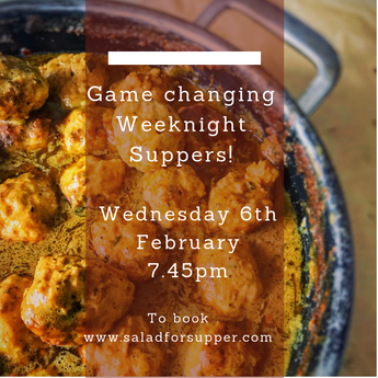 Cookery Demo: Ultimate Weeknight Suppers - Wednesday 6th February