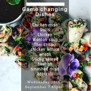 Cookery Demo: Game changing dishes!  - Wednesday 18th September