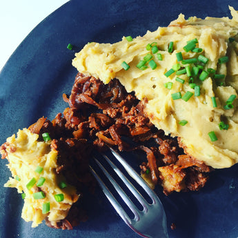 Freezer Fill - Caramalised Steak Mince with Sweet Potato Mash VEGAN VERSION AVAILABLE